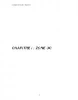 PLU Zone UC